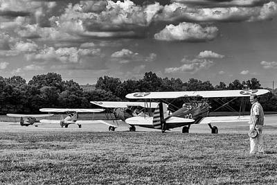 Photograph - Roll Out  For Take Off by Alan Raasch
