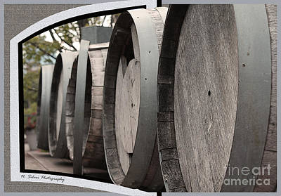 Photograph - Roll Out The Barrels by Nina Silver