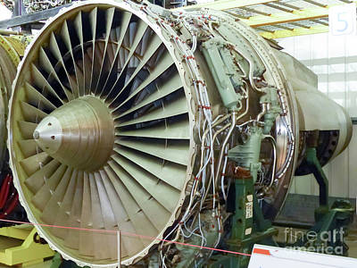 Photograph - Roll-royce Rb211  by Rod Jones