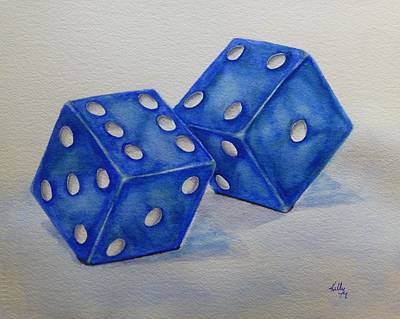 Painting - Roll The Dice by Kelly Mills
