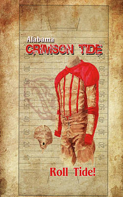 Digital Art - Roll Tide Phone Case by Greg Sharpe