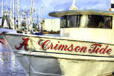 Fresh Shrimp Wall Art - Photograph - Roll Tide Roll by JC Findley