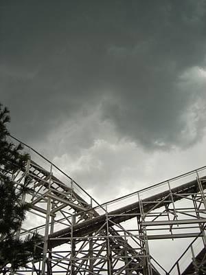 Photograph - Roller Coaster 3 by Sara Stevenson