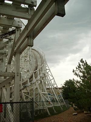 Photograph - Roller Coaster 5 by Sara Stevenson