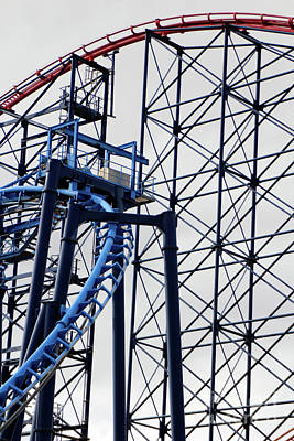 Photograph - Roller Coaster by Doc Braham