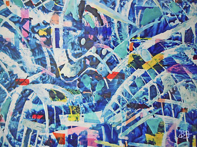 Painting - Roller Coaster by Jean Batzell Fitzgerald