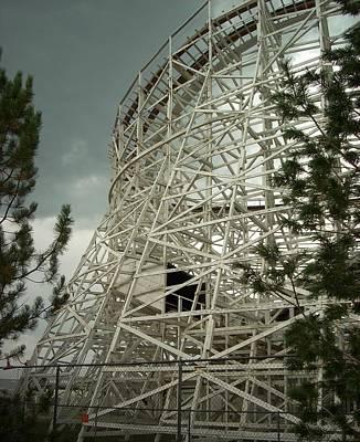 Photograph - Roller Coaster by Sara Stevenson