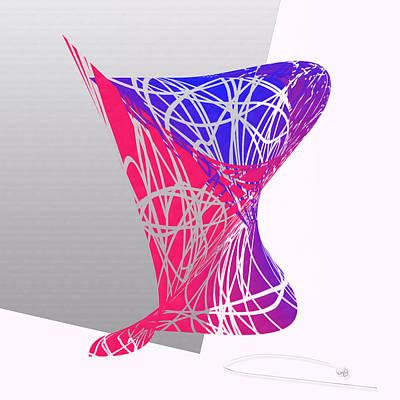 Christina Digital Art - Roller Coaster   by Warren Lynn