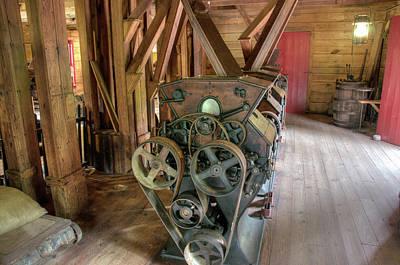 Photograph - Roller Mills by Steve Stuller