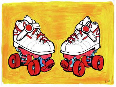 Roller Skates Original by Brandy Devoid