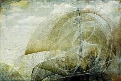 Digital Art - Rollercoaster 101 by Christina VanGinkel