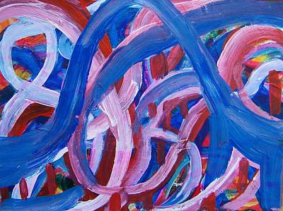Rollercoaster Painting - Rollercoaster by Judith Redman