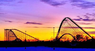 Rollercoaster Photograph - Rollercoaster Of Life by Becky Kurth