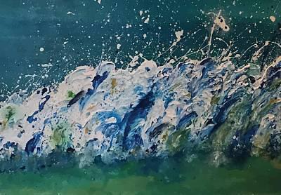 Painting - Rollers Art By Brenda Boss by Brenda Boss