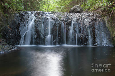 Photograph - Rolley Falls  by Rod Wiens