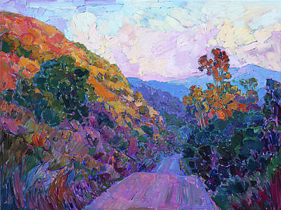 Painting - Rolling Dawn by Erin Hanson