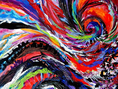 Rolling Detail Three Art Print