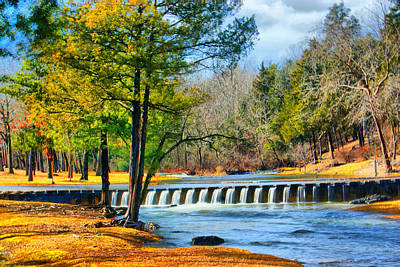 Rolling Down The River Art Print by Rick Friedle