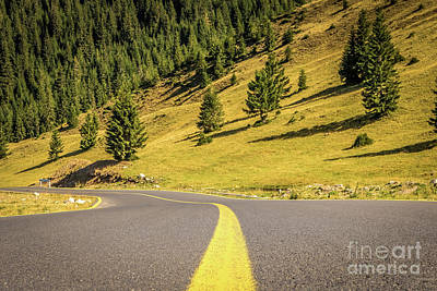 Photograph - Rolling Down Transalpina Road by Claudia M Photography
