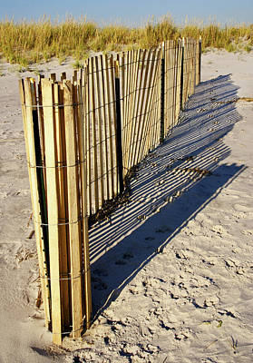 Photograph - Rolling Fence by Cate Franklyn