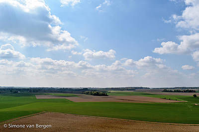 Photograph - Rolling Fields by Simone Van Bergen