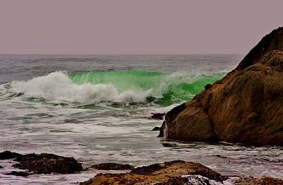 Neah Bay Photograph - Rolling Green by Stacie Gary