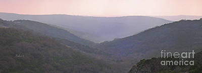 Photograph - Rolling Hill Country Panorama by Felipe Adan Lerma