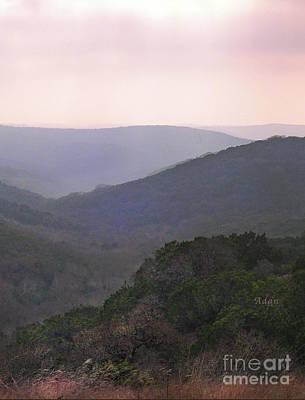 Photograph - Rolling Hill Country Vertical by Felipe Adan Lerma