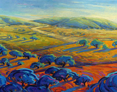 Painting - Rolling Hills 3 by Konnie Kim