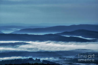 Photograph - Rolling Hills Of West Virginia by Thomas R Fletcher