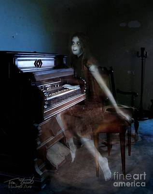 Ghost Photograph - Rolling Hills Organ by Tom Straub