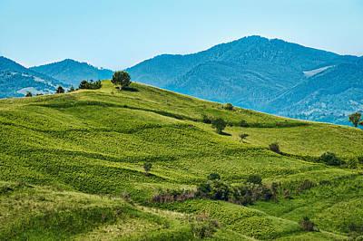 Photograph - Rolling Hills - Romania by Stuart Litoff