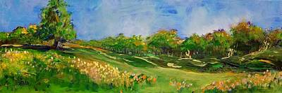 Painting - Rolling Hills by Terri Einer