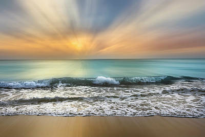 Photograph - Rolling In At Sunrise Dreamscape by Debra and Dave Vanderlaan