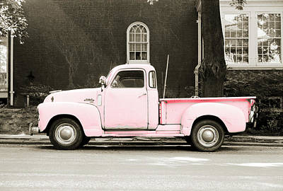 Photograph - Rolling Pink by Jan W Faul