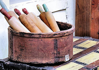 Photograph - Rolling Pins by Janice Drew