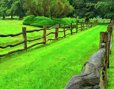 Photograph - Rolling Rock Bridle Trail 2 by L J Oakes