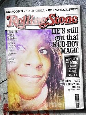 Photograph - Rolling Stone  by Charita Padilla