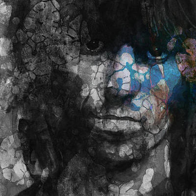Rolling Stones Wall Art - Painting - Rolling Stoned by Paul Lovering