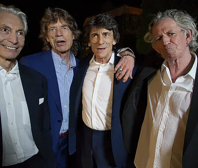 Photograph - Rolling Stones Casual by Daniel Hagerman