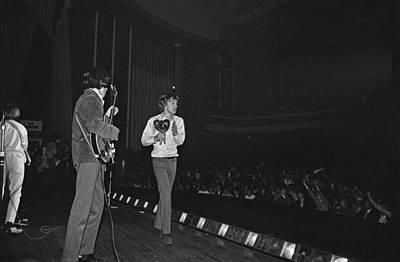 Rolling Stones Play Dublin Art Print by Irish Photo Archive