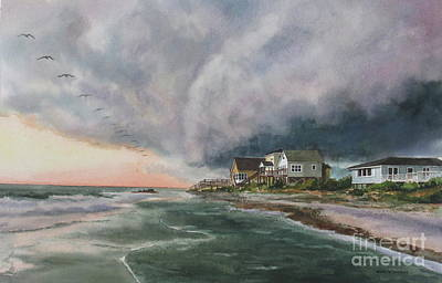 Painting - Rolling Storm by Karol Wyckoff