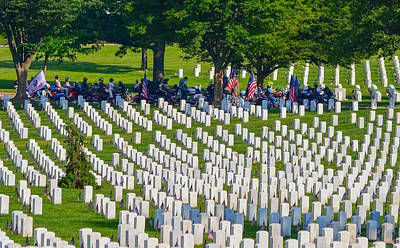 Photograph - Rolling Thunder Respect by Jeff at JSJ Photography