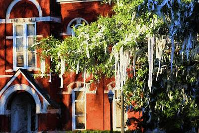 Rolling Toomer's And Hargis Hall Art Print