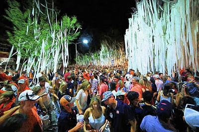 Rolling Toomer's Corner Print by JC Findley