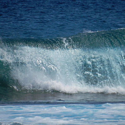 Photograph - Rolling Waves by Pamela Walton
