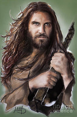 Rollo /vikings / Art Print by Melanie D