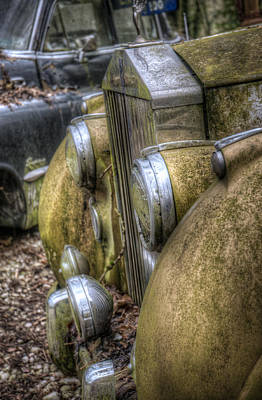 Graveyard Digital Art - Rolls And Pontiac  by Nathan Wright