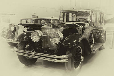 Photograph - Rolls In Sepia by Bill Dutting