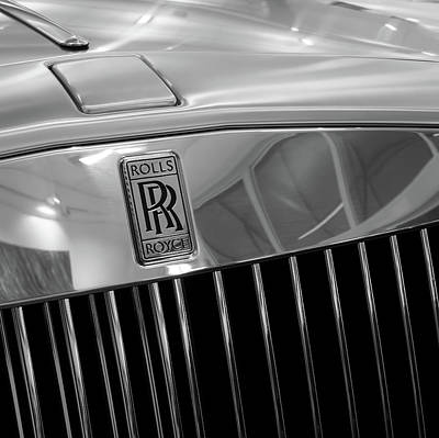 Photograph - Rolls by Richard Goldman